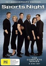 Sports Night - The Complete Series (DVD, 2009, 8-Disc Set) Region Free