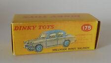 Repro Box Dinky Nr.175 Hillman Minx Saloon grau/blau und braun/grün