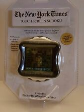 Excalibur New York Times TOUCH SCREEN SUDOKU Electronic Handheld Pocket Game NEW