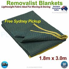 10 x Furniture Protection Moving Blankets Removalist Pads Burlap Padded Blanket