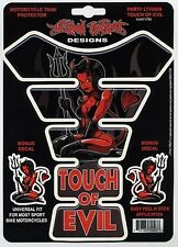 """LETHAL THREAT """"TOUCH OF EVIL"""" TANK PAD PROTECTOR BIKE"""