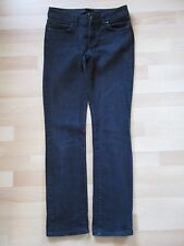 ZARA Woman Black Straight Sretchy Trousers Jeans size 8 EUR 36