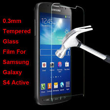 Premium Tempered Glass Film Screen Protector For Samsung Galaxy S4 Active i9295