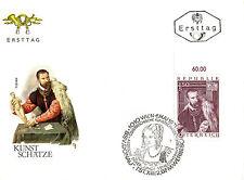AUSTRIA 6 MAY 1971 ART JACOPO de STRADA by TIZIAN FIRST DAY COVER SHS