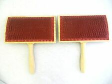 Ashford 72 Point Hand Carders (Pairs) - Fibre Wool Spinning Needle Felting Tools