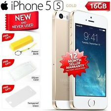New in Sealed Box Factory Unlocked APPLE iPhone 5S Gold 16GB 4G Smartphone