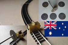 TRACK-CLAMP incl. CUT OFF WHEELS + JOINERS for PECO SCALE N - POSTAGE-FREE (AUS)