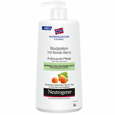 3X Neutrogena Nourishing Body Lotion With Nordic Berry(Normal To Dry Skin)250ml
