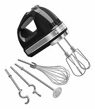 KitchenAid KHM926OB 9-Speed Digital Hand Mixer with Turbo Beater II Acces... New