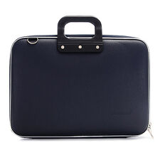 "Bombata - Navy Blue Classic 15.6"" Laptop Case/Bag with Shoulder Strap"