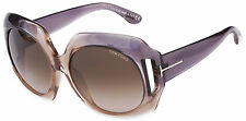 NEW Authentic TOM FORD Sunglasses IVANA Graduated Violet Gradient FT0385 20B