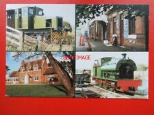 POSTCARD NORTHAMPTONSHIRE RAILWAYS IN NORTHAMPTONSHIRE MULTI VIEW