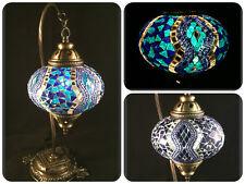 Mosaiklampe L orientalische Lampe Stehlampe Tischlampe Samarkand-Lights Blau
