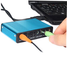 USB 6 Channel 5.1 Audio External Optical Sound Card Adapter For PC Laptop BH