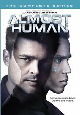 ALMOST HUMAN - THE COMPLETE SERIES  -  DVD - UK Compatible - New & sealed