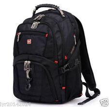 15.6' Laptop Swiss gear Backpack Computer School Rucksack Bag Men Travel Large