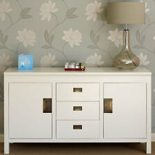 Chinese White Lacquer Sideboard 200 cm.