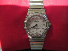 Omega Ladies Constellation My Choice Diamond Dress Watch Like New