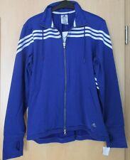 Adidas Jacke Laufjacke Climacool CT Q 3 Track Top blau weiß Gr. XL 46 48