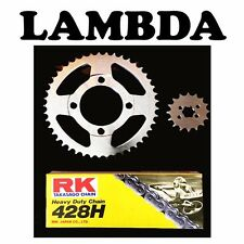 Chain & Sprocket Kit for '99 on CT110 Honda Posties - 16 Tooth Front - Oversize