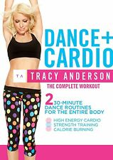 EXERCISE DVD The Tracy Anderson Method DANCE PLUS CARDIO - 2 Workouts!