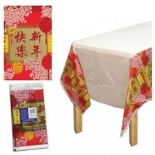 CHINESE NEW YEAR BLESSING TABLECLOTH PARTY TABLE COVER DECORATION ASIAN