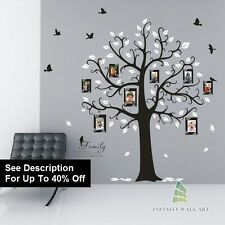 Wall Stickers Tree Flower Nursery Kids Art Decals Butterfly Vinyl Decors--@-D538