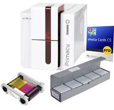 Evolis Primacy USB Ethernet rot PM1H0000RS Bundle Kartendrucker