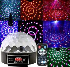 Crystal Magic Ball Laser Stage Light Party Disco DJ Bar Lighting Show DMX Remote