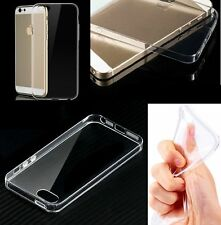 Best Quality TPU Clear Silicone Gel Case Cover for Apple iPhone 5c + Glass Prtcr
