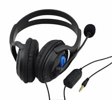 DELUXE HEADSET HEADPHONE WITH MICROPHONE +VOLUME CONTROL FOR XBOX ONE CONTROLLER
