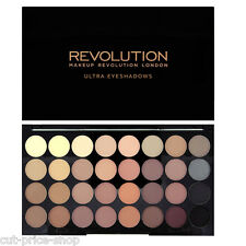 MAKEUP REVOLUTION 32 All Matte Shadows Eyeshadow Palette Flawless MATTES