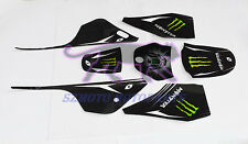 YAMAHA PW80 PY80 PEEWEE STICKERS DECALS BLACK 3M