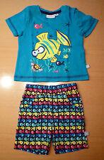 supersüßes Sommerset von Liegelind: T-Shirt & Hose mit Fisch-Motiv, Gr. 68, NEU!
