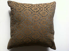 Gold and Green Medallion Crest Cushion Cover - 45cm x 45cm