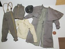"""Dragon - BBK 1/6th Scale Confederate Officers Distressed Uniform """"Hex"""""""