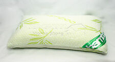 HQ BAMBOO SHREDDED MEMORY FOAM PILLOW WTH COVER SOFT HEAD NECK BACK SUPPORT