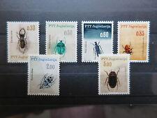 Jugoslawien Nr. 1158-63 ** Käfer Fauna  gesuchter Satz!  (A-108)