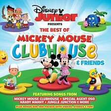 DISNEY JUNIOR PRESENTS: BEST OF MICKEY MOUSE CLUBHOUSE & FRIENDS CD & DVD SET