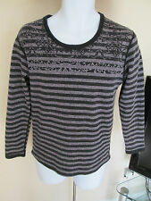 Hodo Home - Black/Grey ladies sweatshirt size 170 / 88a