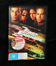 DVD - THE FAST AND THE FURIOUS - Vin Diesel/Paul Walker/Michelle Rodriguez