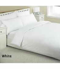 3 x Double Egyptian Cotton Flat Sheets in White LUXURY HOTEL QUALITY LINEN