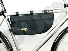 NEW BICYCLE BIKE CYCLE CYCLING FRAME BAG LUGGAGE POUCH PANNIER - GO! TRAVEL