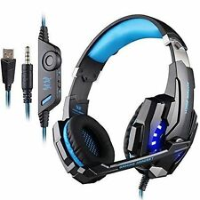 KOTION EACH G9000 3.5mm Stereo PC PS4 Gaming Headset with Microphone LED Light
