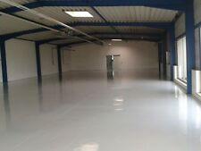 Bodenbeschichtung, Bodenfarbe Beschichtung 2K Bodenversiegelung 25m².ral 7001