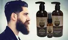 By My Beard Shampoo + Conditioner + Oil, Gift Pack, Clean Soft Manageable Hair