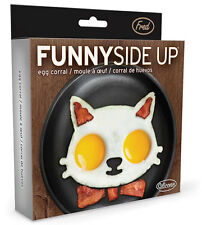New Fred Funny Side Up Cat Face Shaped Fried Eggs Mould Cooking Kitchen