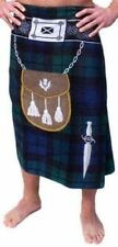 Traditional Scottish Kilt Towel Royal Stewart & Black Watch Tartan 75cm x 150cm
