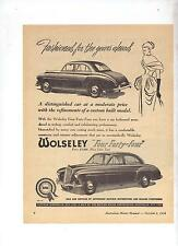 Wolseley Four Forty Four Original Advertisement