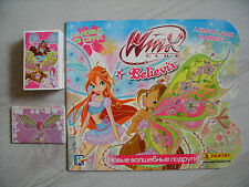 Panini: Winx Club Believix: Stickersatz ( 1-202 + X1-X14 ) + Leeralbum, top !!!